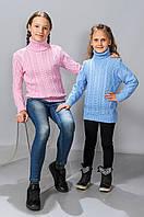 Вязанный свитер для девочки (5132)