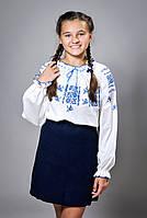 Блуза вышиванка на девочку (1523)