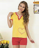 Пижама с шортами молодёжная Miss Victoria