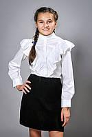 Школьная блузка для девочки (1271)