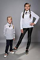 Школьная блузка для девочки (1272)