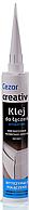 Клей влагостойкий Creativa для стыков плинтусов из дюрополимера, 310 мл.