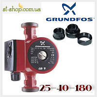 Насос циркуляционный Grundfos UPS 25-40 (база 180 мм), фото 1