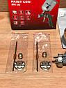 Краскораспылитель пневматический с верхним бачком V 0,6 л, сопло D 1.2, 1.5 и 1.8 мм MTX, фото 7