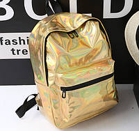 Рюкзак голограммный золотой