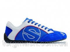 Кроссовки Sparco Esse цвет синий, материал замша, последняя пара 42 размер.
