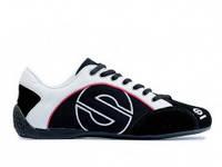 Кроссовки Sparco Esse цвет черный, материал замша, размер 41-45