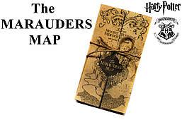Карта Мародеров из Гарри Поттер, The Marauders Map Hogwarts