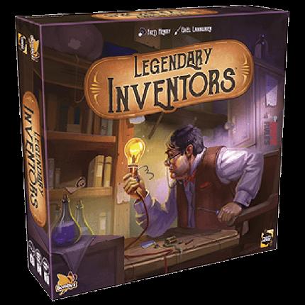 Настольная игра Легендарные Изобретатели (Legendary Inventors), фото 2
