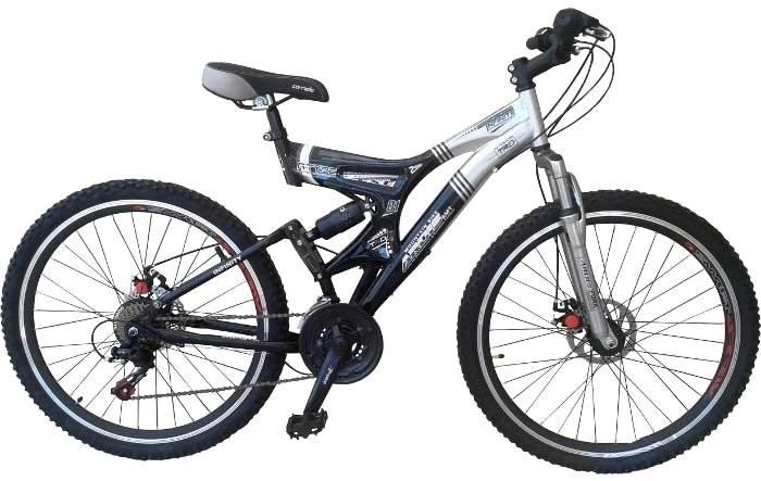 """Горный велосипед ARDIS INFINITY AMT 26"""" 19""""  Черный/Серый"""