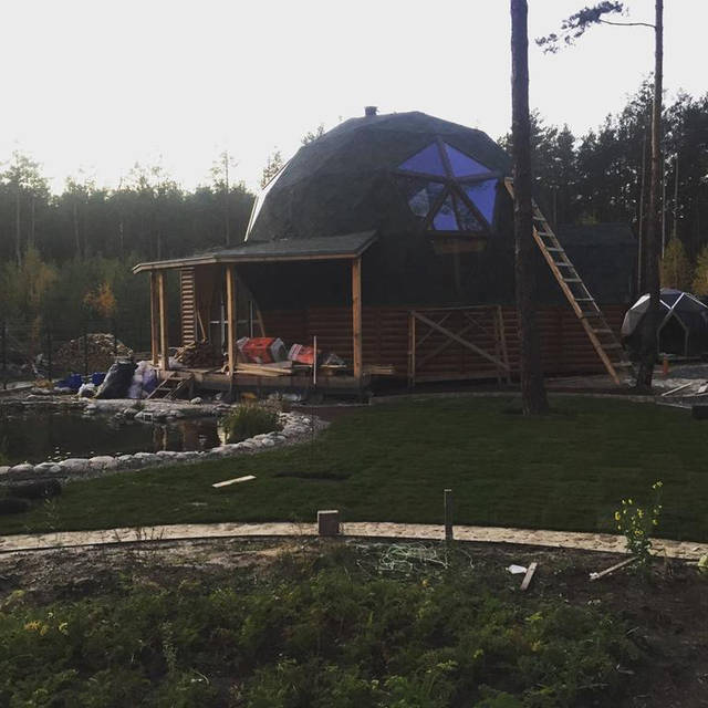 Гостевой купольный дом