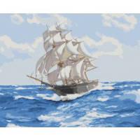 """Картины по номерам -Морський пейзаж """"Дух свободи"""" 40*50см"""