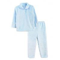Пижама махра рв. полированная цветная
