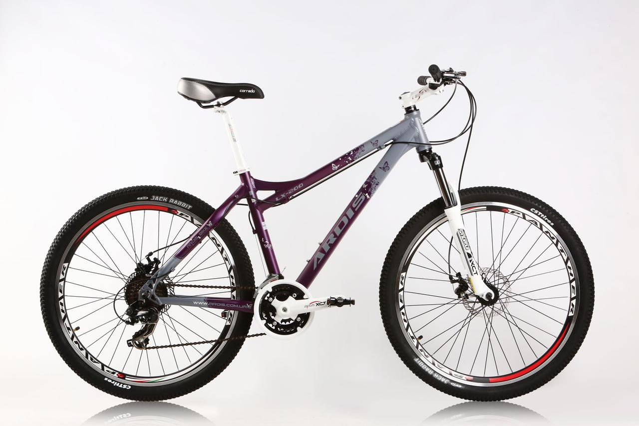 """Горный велосипед ARDIS LX 200 MTB 26"""" 17""""  Фиолетовый/белый"""