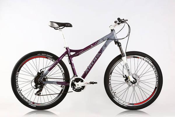 """Горный велосипед ARDIS LX 200 MTB 26"""" 17""""  Фиолетовый/Серый"""