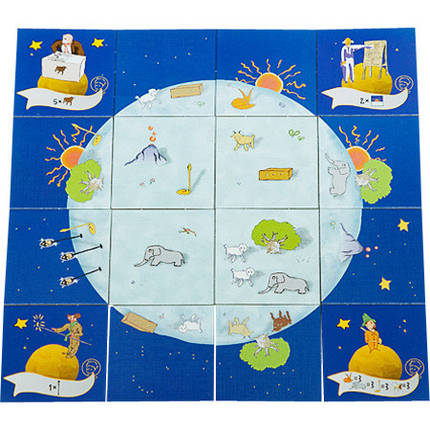 Настольная игра Маленький Принц: Создай Планету для Меня (укр.), фото 2
