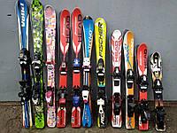 Дитячі гірські лижі оптом 70-120 см, 11 пар по 1200 грн
