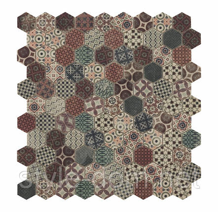 Мозаїка Honey Decor Terre Beige 4705 31,5*31,5, фото 2
