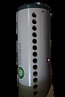 Сезонный солнечный коллектор (бак 150л, рама, 15трубок, маленький бачок) (Китай)