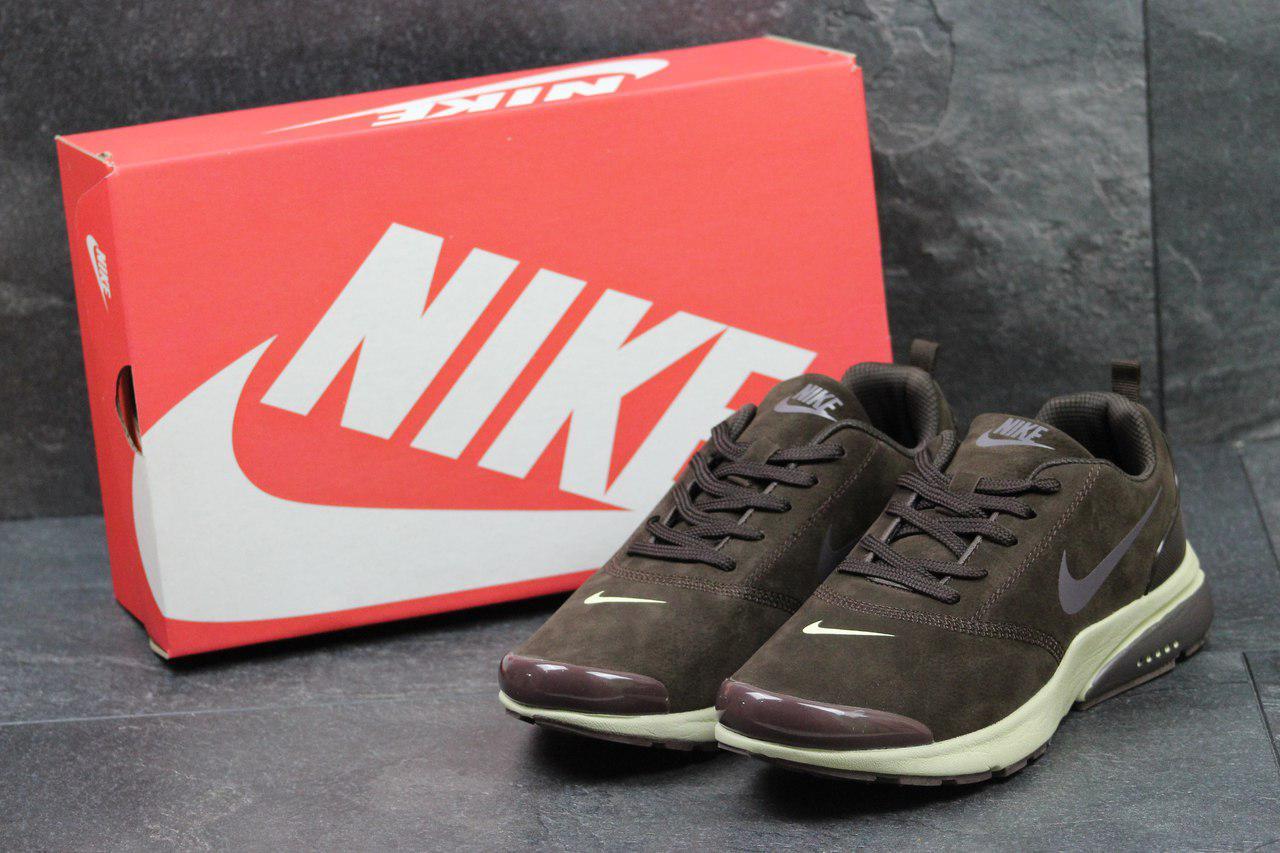 Кроссовки мужские Nike Air Presto (коричневые), ТОП-реплика