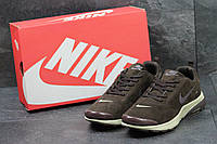 Кроссовки мужские Nike Air Presto (коричневые), ТОП-реплика, фото 1