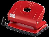 Дырокол металлический, 20л., красный bm.4037-05