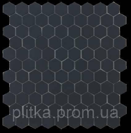 Мозаїка Matt Black Hex 903H 31,5*31,5, фото 2