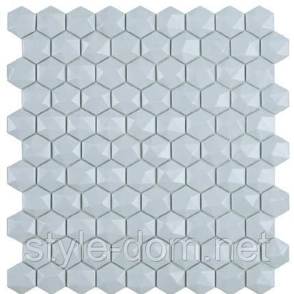 Мозаїка Matt Light Blue Hex 925 D 31,5*31,5