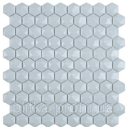 Мозаїка Matt Light Blue Hex 925 D 31,5*31,5, фото 2