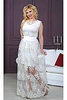 Женское платье  из французского кружева