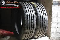 Шины бу летние 215/50 R17 Bridgestone Turanza ER300,  6,7 мм, 2013 год,