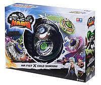 Два волчка Auldey Infinity Nado Серия Сплит-Air Fist и Cold Shadow, устройство запуска, разноцветные YW624603
