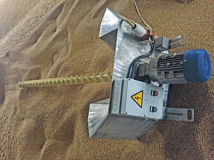 Ворошитель зерна ЗР-01