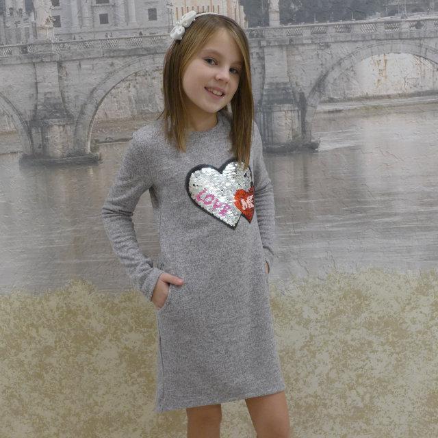 """Плаття -туніка """"Серце"""" розміри на ріст 128 - 156"""