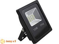Прожектор светодиодный LED-NGS-10 PREMIUM 6000K 10W(вт), 1000 lm тонкий корпус (slim) NIGAS