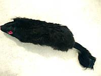 Игрушка Мышь черная пищащая Unizoo SQ 5.5