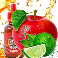 PUFF 50мл Яблочный Лайм / Apple Lime  - Жидкость для электронных сигарет (Заправка)