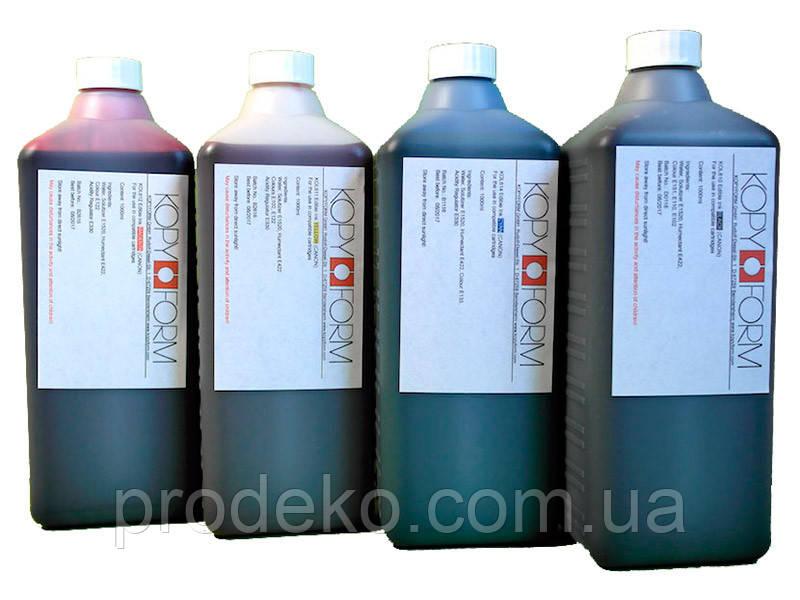 Чернила пищевые цветные  Kopy Form 4 цвета 4х1L