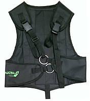 Разгрузочный жилет для подводной охоты WGH; чёрный