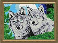 """Алмазная вышивка """"Волки"""""""