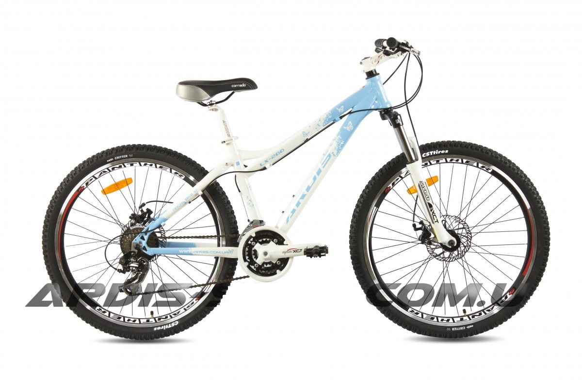 """Горный велосипед ARDIS LX 200 MTB 26"""" 17""""  Белый/Бирюзовый"""