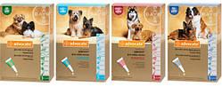 Bayer Advocate капли на холку от блох и клещей для собак