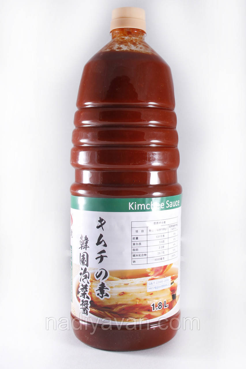 Соус Кимчи1,8л  Kimchee Sauce