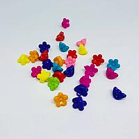 Пластиковые елементи для творчества. Цветочек. 10мм