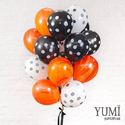 Букет на праздник из 20 воздушных гелиевых шаров, фото 2