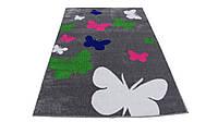 Детский ковер 140x190 бабочки Турция