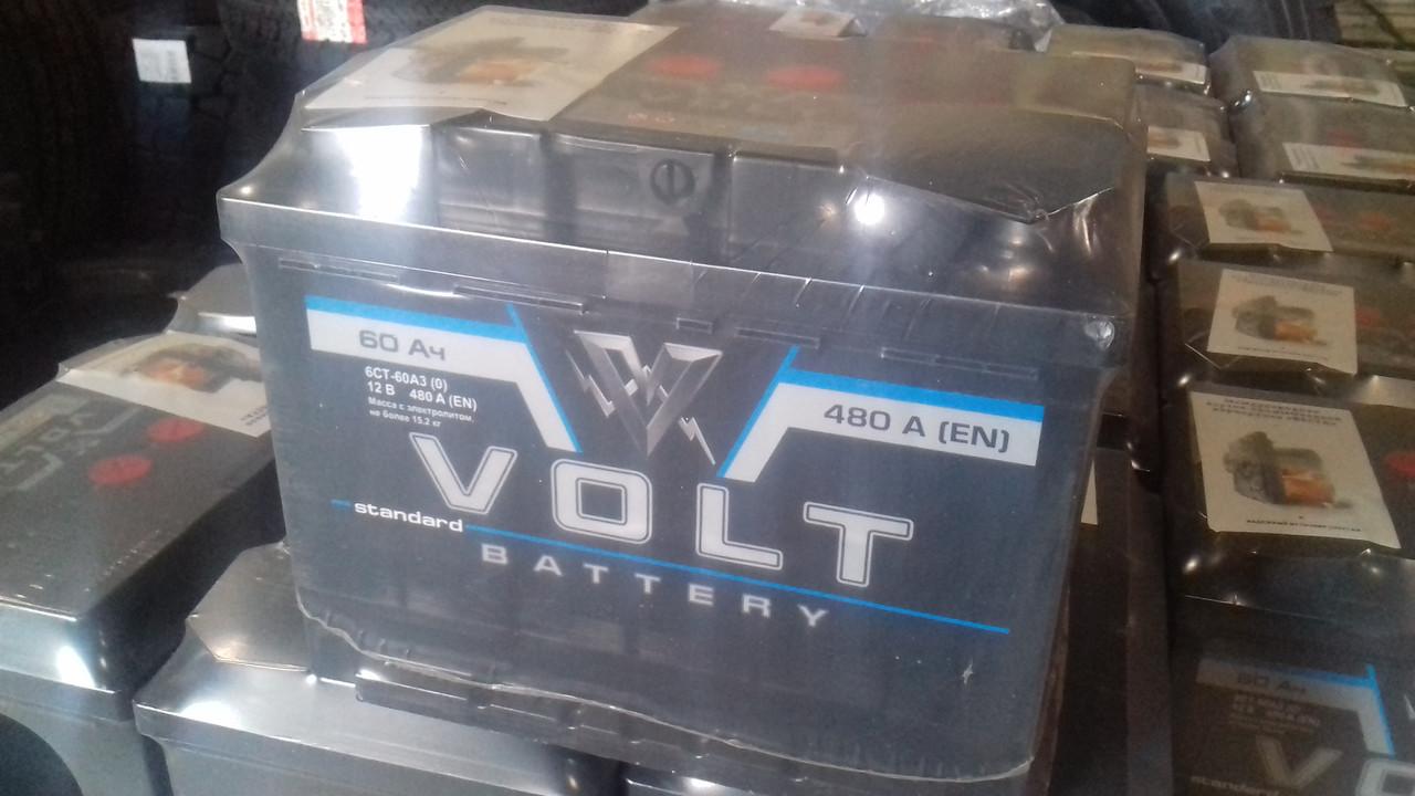 Аккумулятор VOLT 6СТ-60-АЗ (0)