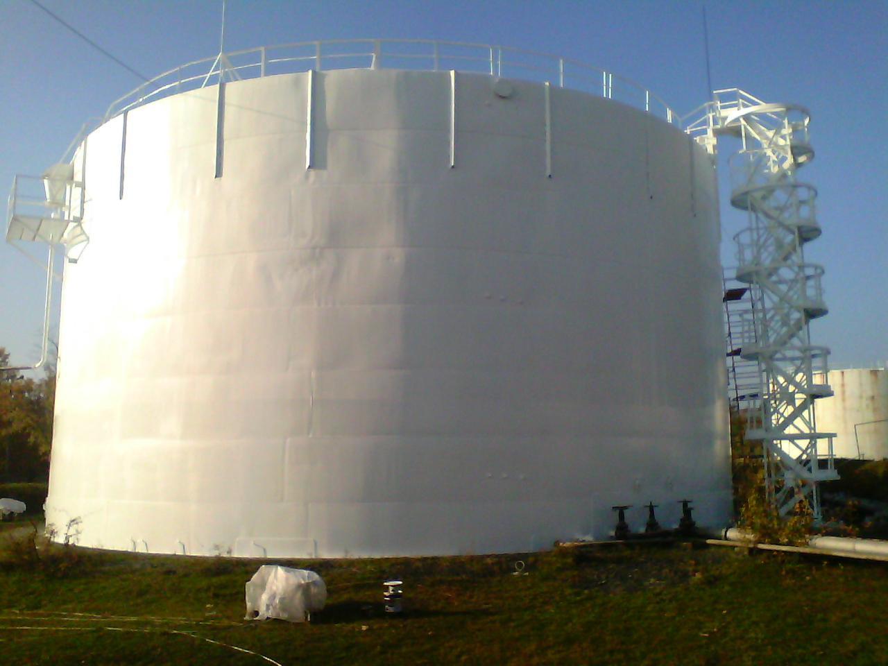Изготовление и монтаж резервуаров РВС-5000