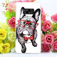 Оригинальный чехол бампер для Samsung Galaxy S8 Plus G955 с картинкой Дог