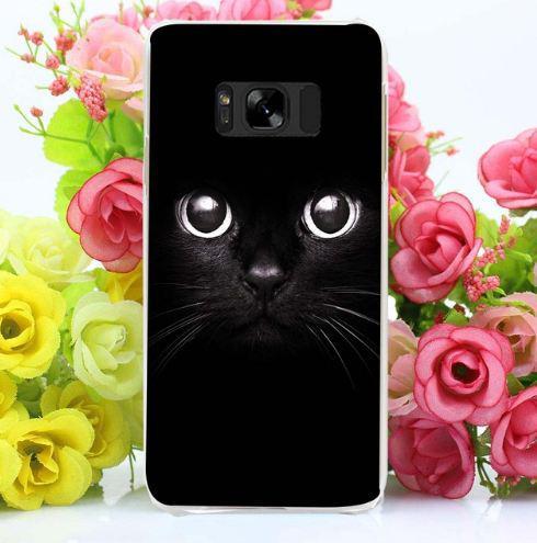 Оригінальний чохол бампер для Samsung Galaxy S8 Plus G955 з картинкою Мордочка